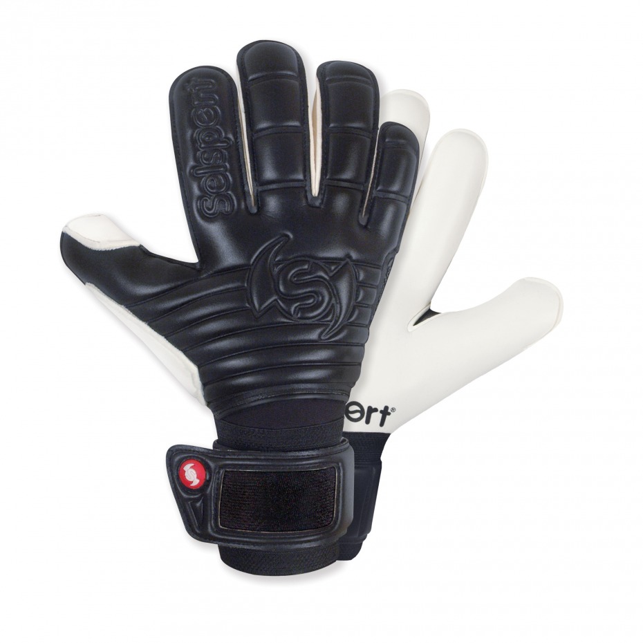 Selsport-Wrappa-Classic-Black-Goalkeeper-Glove