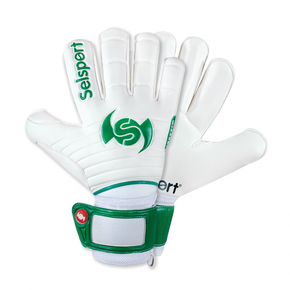 Selsport-Wrappa-Protect-Green-Goalkeeper-Glove